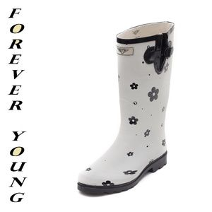 Women Tall Matte Rain boots, #1522